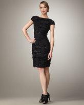 Eyelash-Tweed Dress
