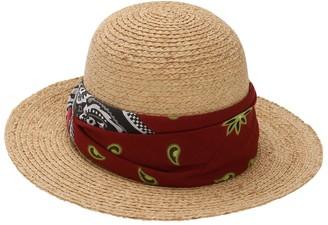 Borsalino Straw Hat W/ Bandana