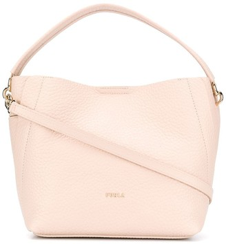Furla Pebble Effect Tote Bag