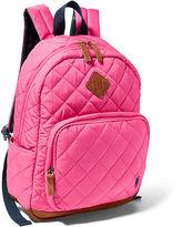 Ralph Lauren Diamond-Quilted Backpack