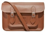 Cambridge Satchel 14 Classic Satchel with Magnetic Closure