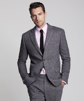 Todd Snyder Wool Donegal Sutton Suit Jacket in Grey