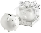 "Kate Aspen Li'l Saver Favor"" Ceramic Mini-Piggy Bank in Gift Box with Polka-Dot Bow (Set of 12)"