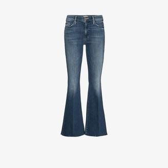 Mother The Weekender raw hem jeans