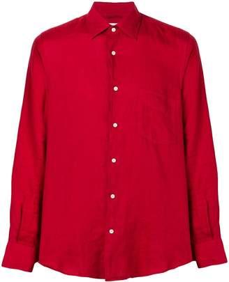 Aspesi slim-fit linen shirt