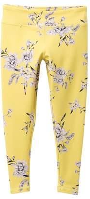 Spiritual Gangster Floral Print Active Leggings (Little Girls & Big Girls)