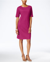 Karen Scott Petite T-Shirt Dress, Only at Macy's