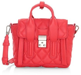 3.1 Phillip Lim Mini Pashli Quilted Leather Satchel
