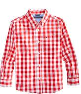 Tommy Hilfiger Ryan Plaid Shirt, Little Boys