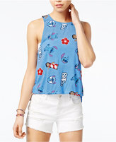Disney Juniors' Stitch Graphic Muscle Tank