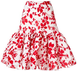 Bambah Sevilla ruffled skirt