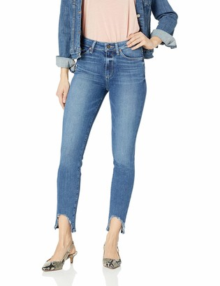Paige Women's Hoxton Transcend High Rise Ultra Skinny Fit Ankle Peg Jean