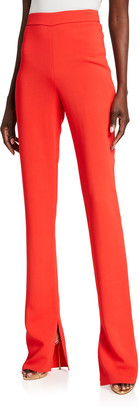 Cushnie High Waisted Flare-Leg Pants