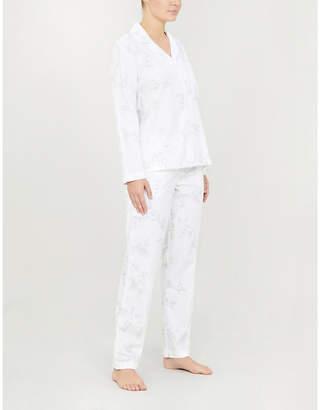 The White Company Émilie floral-print cotton pyjama set