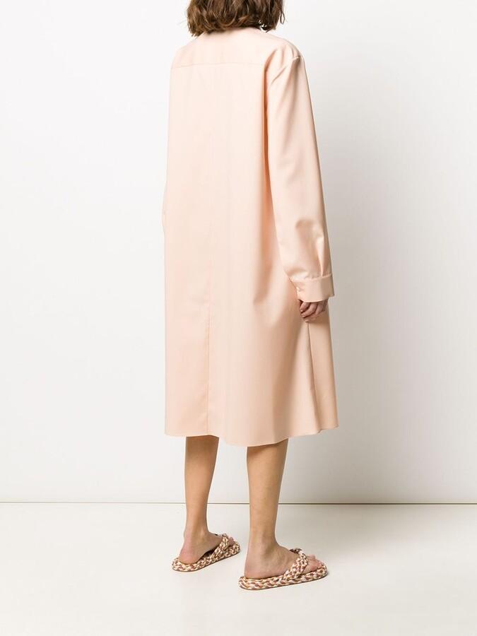 Thumbnail for your product : Maison Rabih Kayrouz Chest Pocket Shirt Dress
