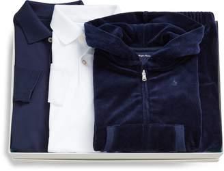 Ralph Lauren Hoodie, Pant & Bodysuit Set