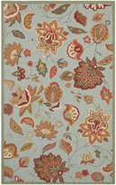 Safavieh FRS413C-8 Four Seasons Collection Hand-Hooked Indoor/ Outdoor Area Rug