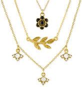 Rachel Roy Gold-Tone 3-Pc. Charm Necklace Set