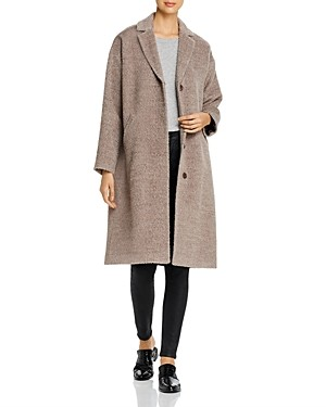 Eileen Fisher Textured Long Boxy Coat