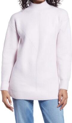 Halogen Textured Tunic Sweater