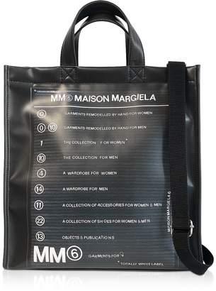 Maison Margiela Black New Shopping Backpack