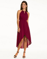 Le Château Challis Halter High-Low Dress