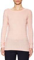 M Missoni Wool Textured Boatneck Top