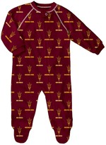 Unbranded Baby Arizona State Sun Devils Footed Bodysuit