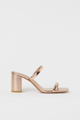 H&M Slip-in Sandals