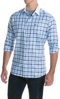 Barbour Raceway Cotton Shirt - Tailored Fit, Button Front, Long Sleeve (For Men)