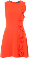 Rachel Zoe frill panel dress - women - Polyester/Acetate - 2