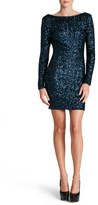 Dress the Population Women's 'Lola' Sequin Body-Con Dress