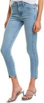Fidelity Denim Gwen Blue Crush High-Rise Skinny Crop