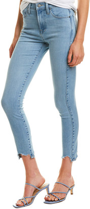 Fidelity Gwen Blue Crush High-Rise Skinny Crop