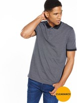 Jack and Jones Premium Jacquard Polo
