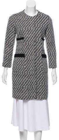 Giambattista Valli Sequined Tweed Coat