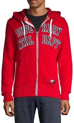 Superdry Academy Athletic Department Zip Hoodie