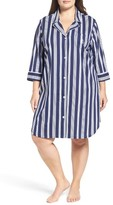 Lauren Ralph Lauren Plus Size Women's Nightshirt