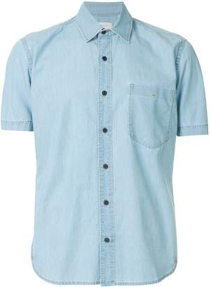 Cerruti short sleeve denim shirt