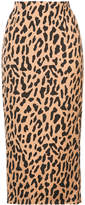 Dvf Diane Von Furstenberg Tailored midi pencil skirt