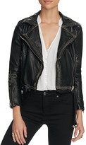 Free People Bang Bang Vegan Moto Jacket