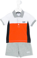 Boss Kids - classic polo shirt - kids - Cotton/Spandex/Elastane - 9 mth
