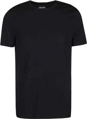 Giorgio Armani Black Cotton T-shirt