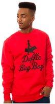 Crooks & Castles Mens The Duffle Bag Boys Sweatshirt M