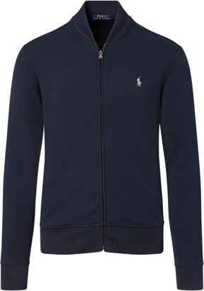 Ralph Lauren Double-knitted Bomber Jacket