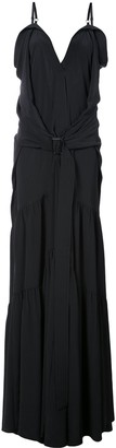 Vera Wang Flared Maxi Dress