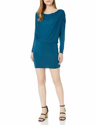 LAmade Women's Long Dolman Sleeve Dress
