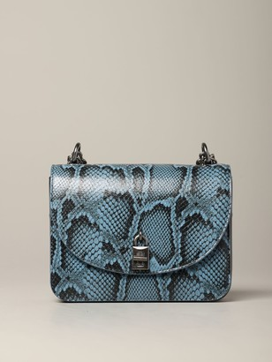 Rebecca Minkoff Crossbody Bags Love Too Bag In Python Print Leather