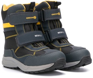 Geox Kids Double-Stap Boots