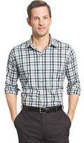 Van Heusen Big & Tall Slim-Fit Plaid Stretch Button-Down Shirt
